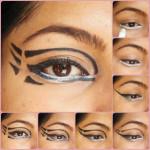 Eye Makeup Tutorial: Pixiwoos Inspired Graphic Eye Makeup