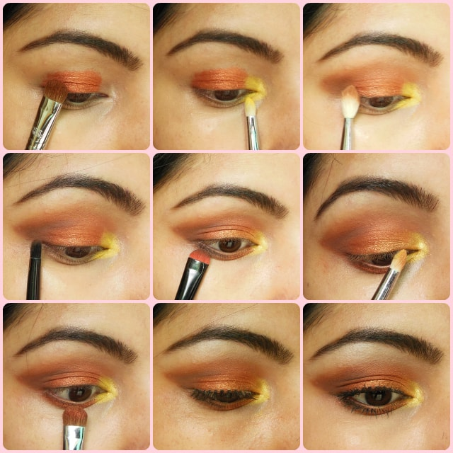 Eye Makeup Tutorial - Warm Copper Smokey Eyes