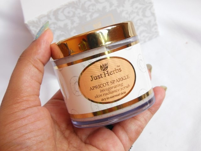 Just Herbs Apricot Sparkle Face Scrub