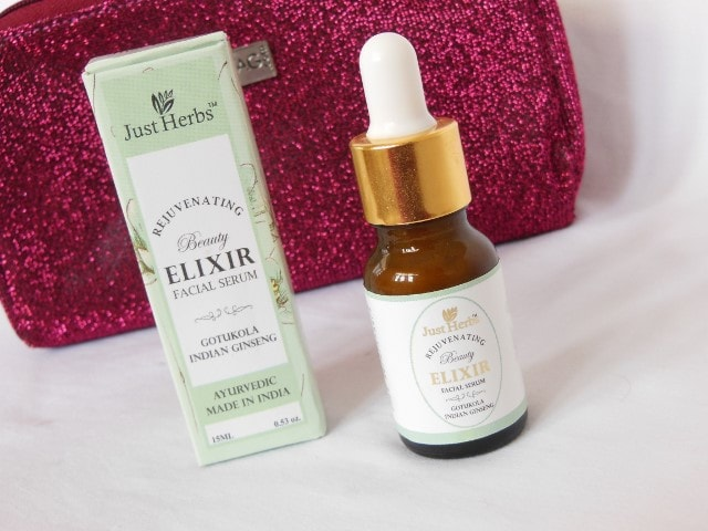 Just Herbs Beauty Elixir Facial Serum