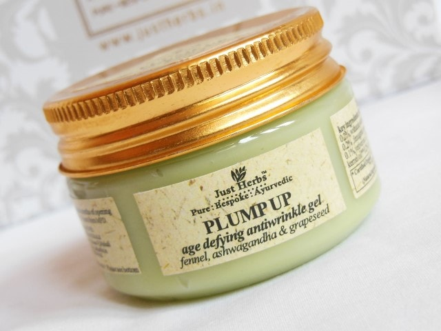 Just Herbs Plump Up Face Gel