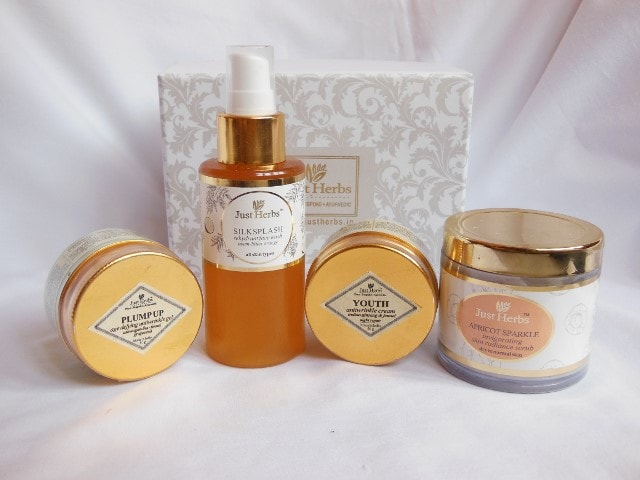Just Herbs Skin Care Range