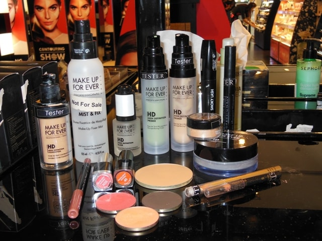Makeup Forever Makeup Products Used