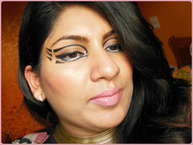 Makeup Look - Pixiwoos Inspired Graphic Eyes