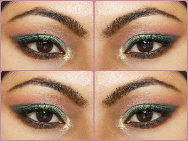 Metallic Green Eye Makeup Tutorial Look