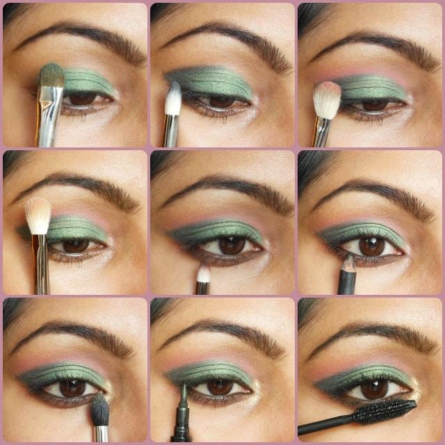 Metallic Green Eye Makeup Tutorial