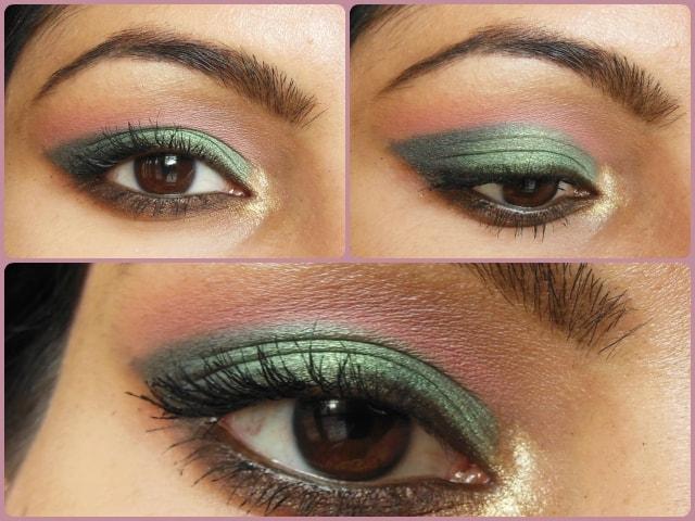Metallic Green Eyes Makeup Tutorial