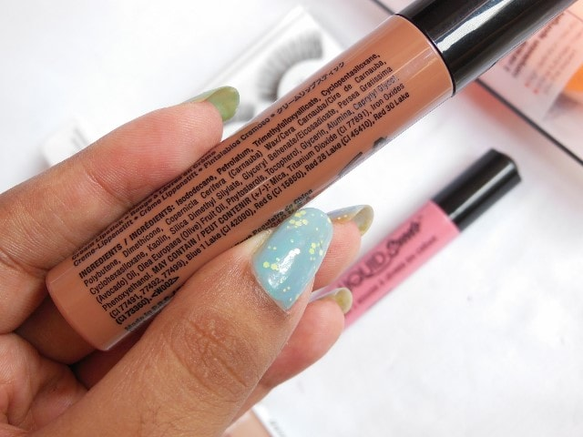 NYX Liquid Suede Cream Lipstick Sandstorm Ingredients
