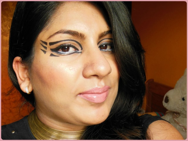Pixiwoos Inspired Bold Graphic eye Makeup