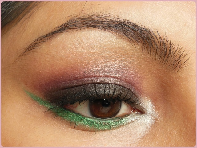 Pop Of Green EOTD