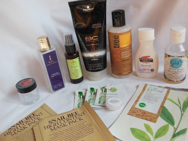 Products Finished October 2015