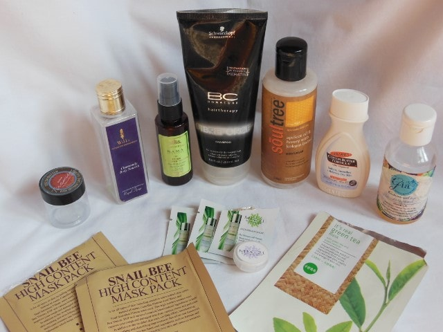 Products Finished this Month - October 2015