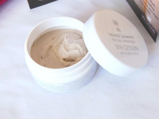 Spa Ceylon White Jasmine Face Masque Review