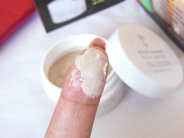 Spa Ceylon White Jasmine Face Masque Swatch