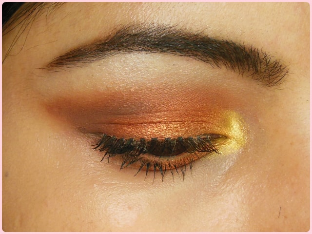 Warm Copper Smokey Eyes EOTD