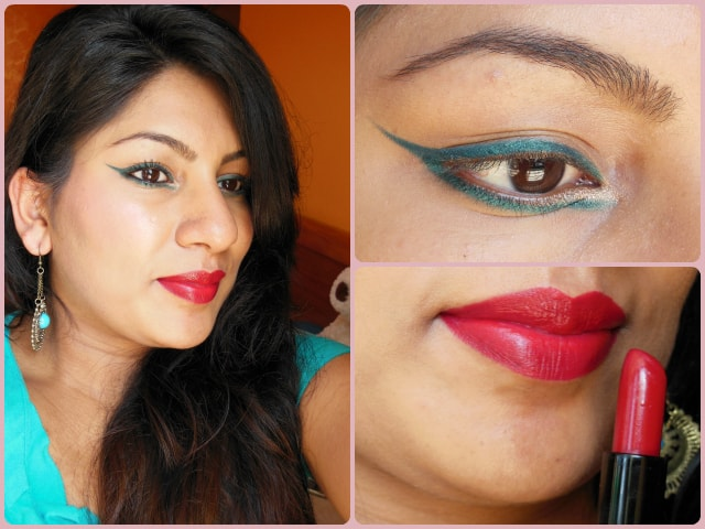 What Am I Wearing Today- Festive Makeup Look