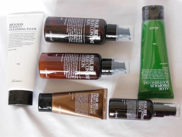 Benton Skincare Regime 2015