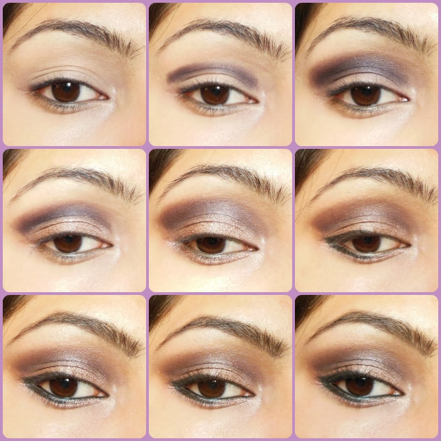 Cool Toned Smokey Brown Eye Makeup Tutorial