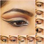 Eye Makeup Tutorial- Intense Cut Crease Champagne Eyes