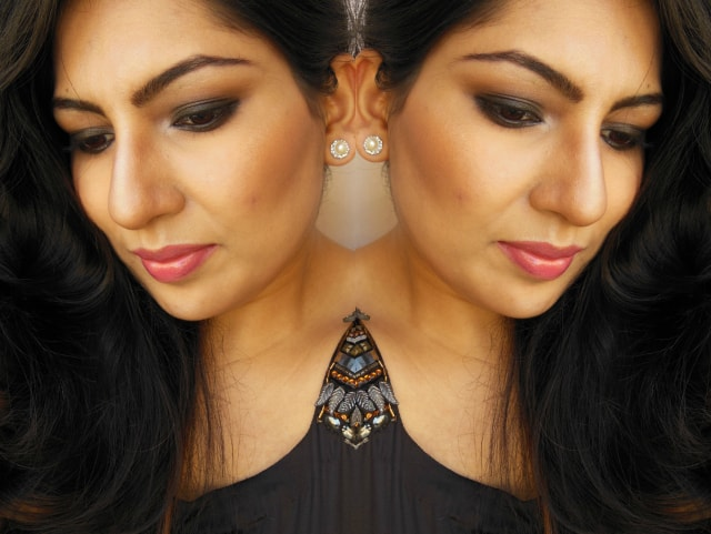 Gerua Song Inspired Makeup Look FOTD