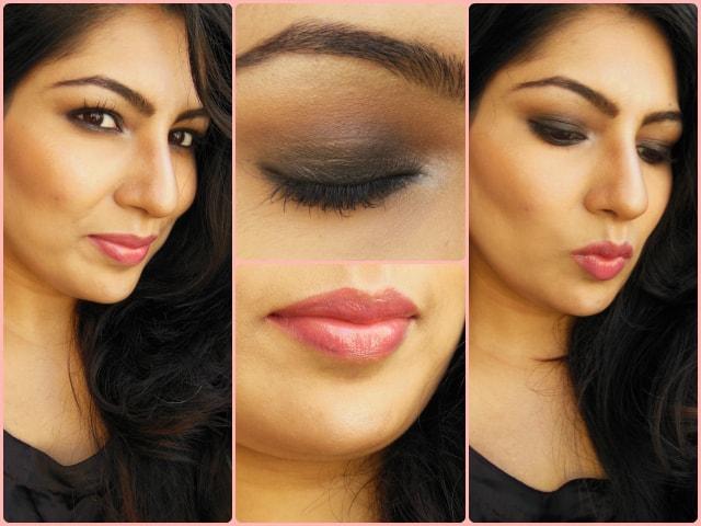 Gerua Song Kajol Inspired Makeup Look FOTD