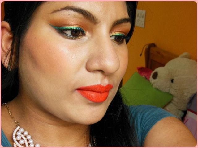 Givenchy Prisme Again! Euphoric Orange Blush Face
