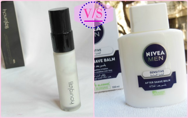 Hourglass Veil Mineral Primer Vs NIvea After Shave Balm