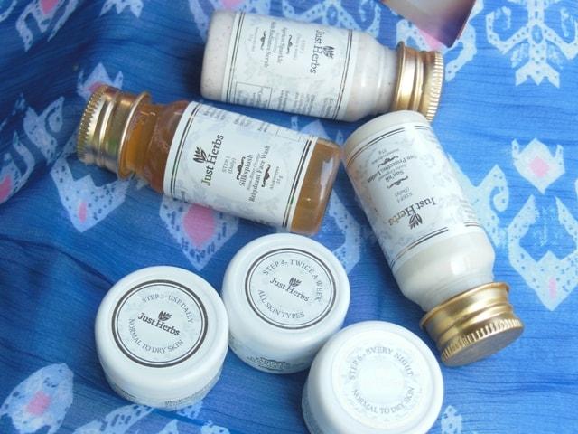 Just Herbs Mini Kit for Dry Skin
