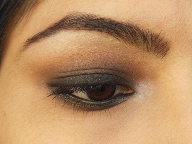 Kajol Gerua Song Inspired Eye Makeup EOTD