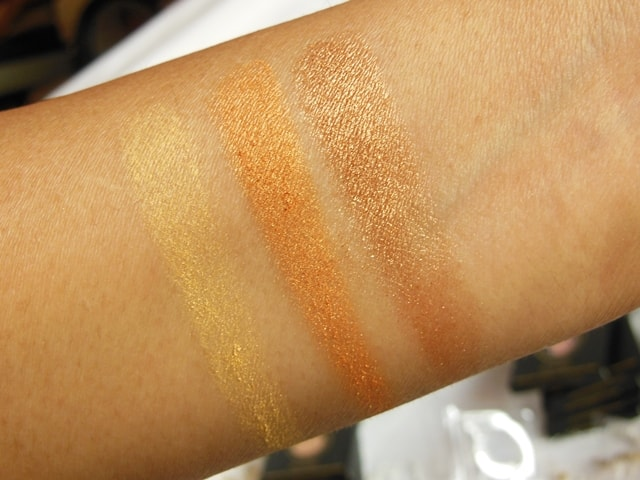 Luxie Beauty Eye Shadows 82, 239, 23 Swatch 2