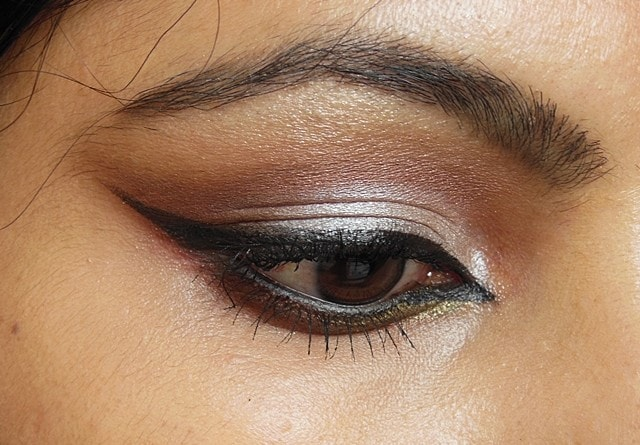 Luxie Beauty Warm Neutral Eye Shadow EOTD
