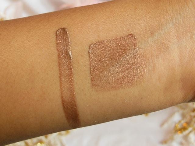 Luxie Glam Eyes Color Primer Liquid Eye Shadow Constellation Swatch 2
