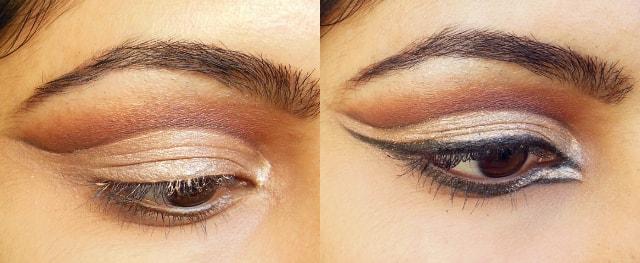 Luxie Glam Eyes Color Primer Liquid Eye Shadows EOTD