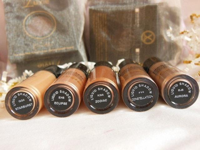 Luxie Glam Eyes Color Primer Liquid Eye Shadows Shades