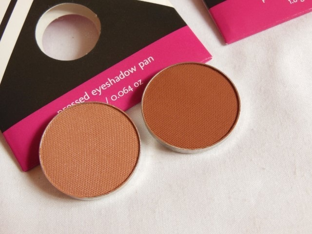 Makeup Geek Cocoa Bear and Frappe Eye Shadow