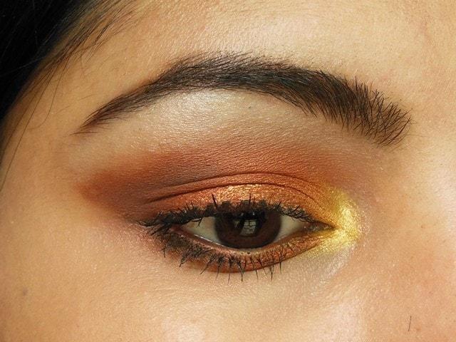 Makeup Geek Cocoa Bear and Frappe Eye Shadow Eyes