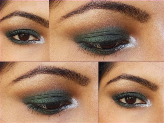 Makeup Geek Envy Eye shadow EOTD