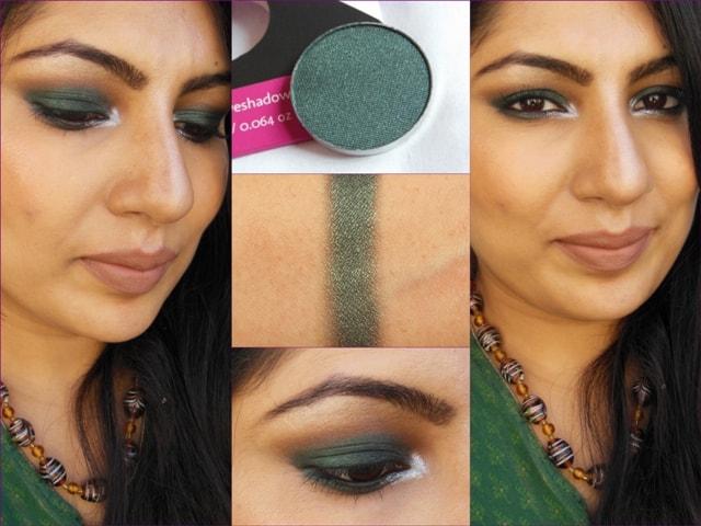 Makeup Geek Envy Eye shadow FOTD