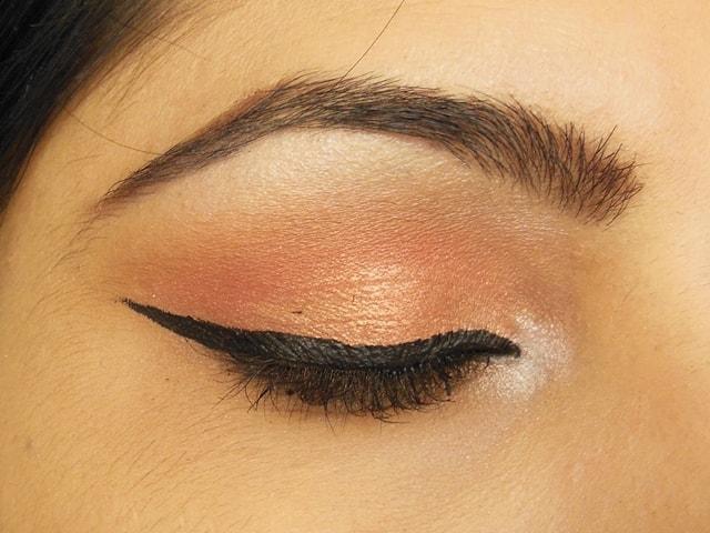 Makeup Geek Eye Shadow Mango Tango and Cosmopolitan Eyes
