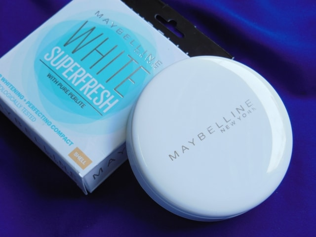 Maybelline White Super Fresh Compact Packaging