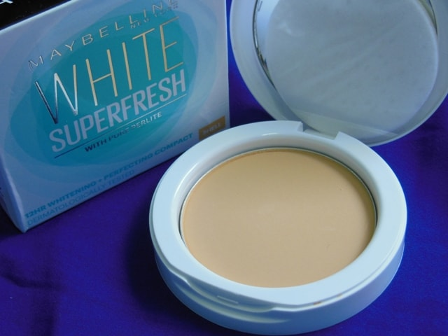 Maybelline White Super Fresh Compact in Shell
