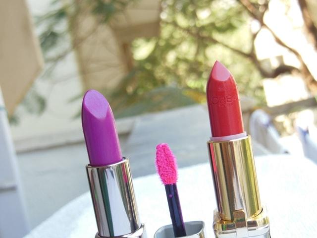 My Color Obsession L'Oreal Paris Color Riche Lipsticks