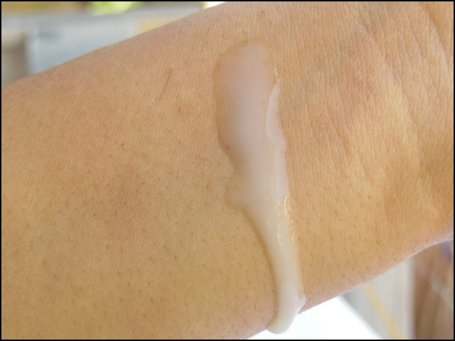 Nivea After Shave Balm as Primer Swatch