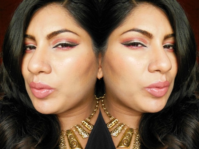 Pink Cut Crease Eye Makeup FOTD