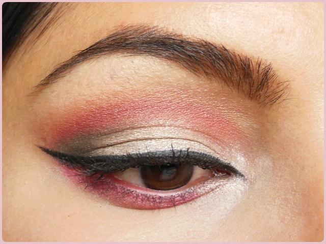 Pink Cut Crease Eyes EOTD