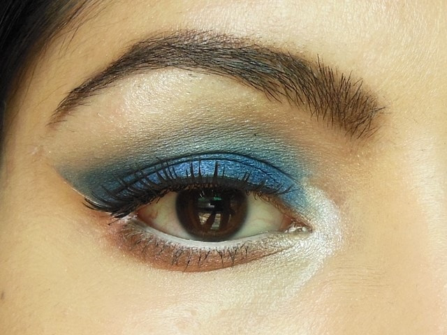 Royal Blue Eye Makeup EOTD 2