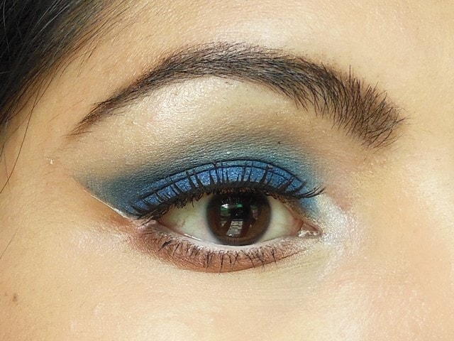 Royal Blue Eye Makeup EOTD