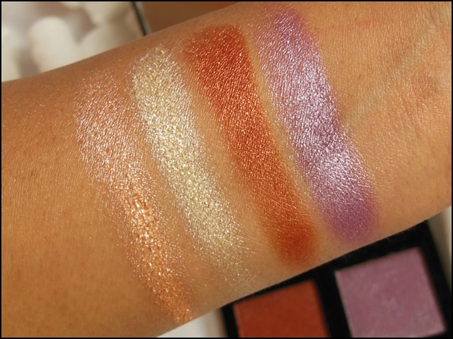 Sedona Lace The Babe Collection Eye Shadow Palette Bridgette Swatches