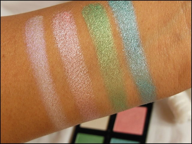 Sedona Lace The Babe Collection Eye Shadow Palette Dana Swatches