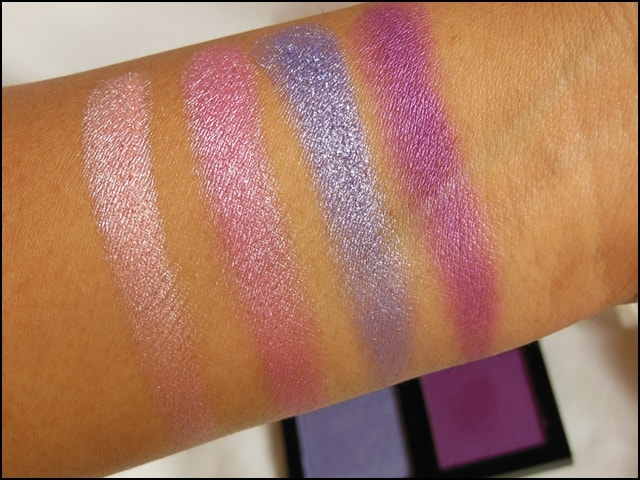 Sedona Lace The Babe Collection Eye Shadow Palette Daniela Swatches